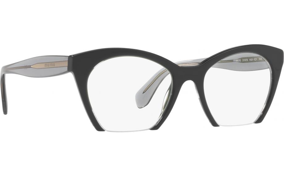 e17d9007440dc Miu Miu MU 03QV H5X1O1 51 Glasses - Free Shipping