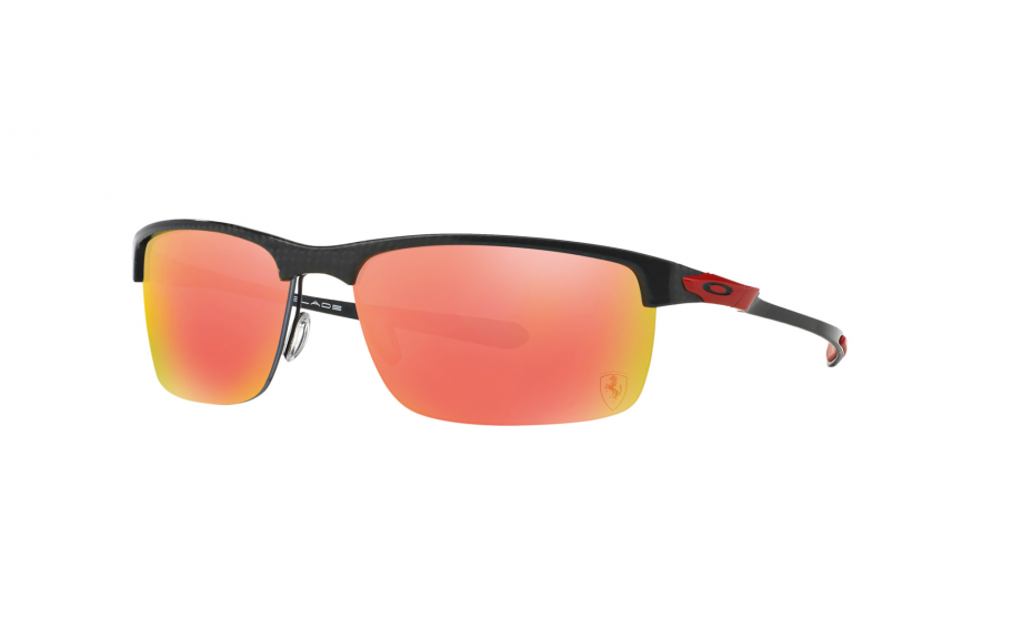 901a6292e82 Oakley Ferrari Special Edition Carbon Blade Polished Carbon OO9174-06 ALT -  Free Shipping