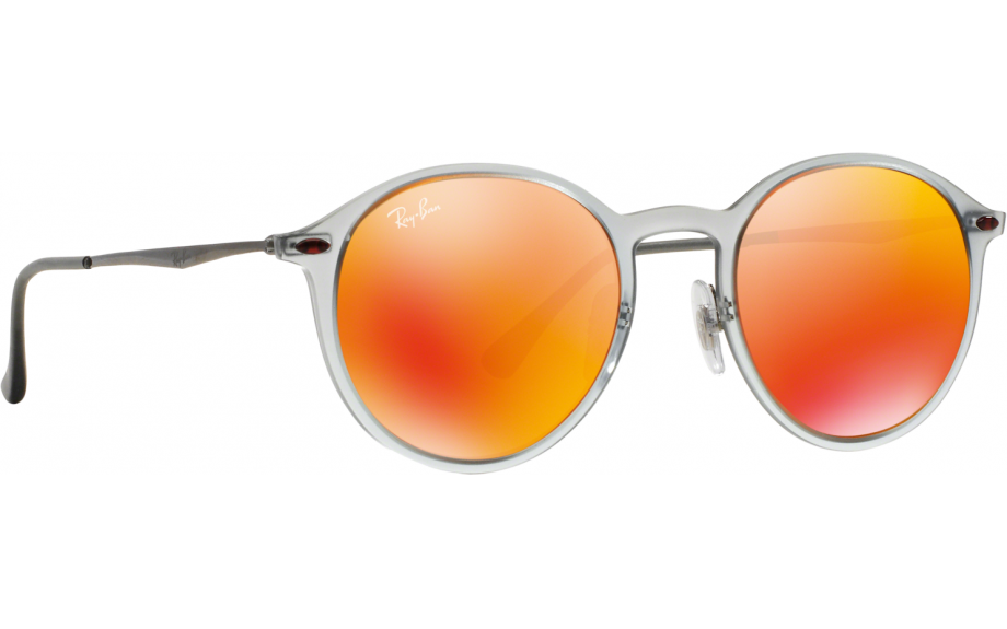 ce439616bbd Ray-Ban Round Light Ray RB4224 650 6Q 49 Sunglasses - Free Shipping ...