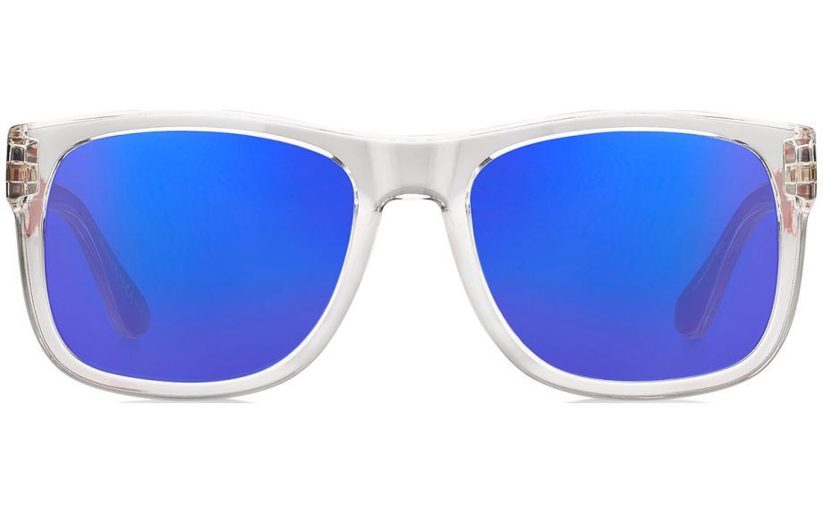 Tommy Hilfiger Occhiali da Sole Th 1556//S 8ru Ku Blu Blu