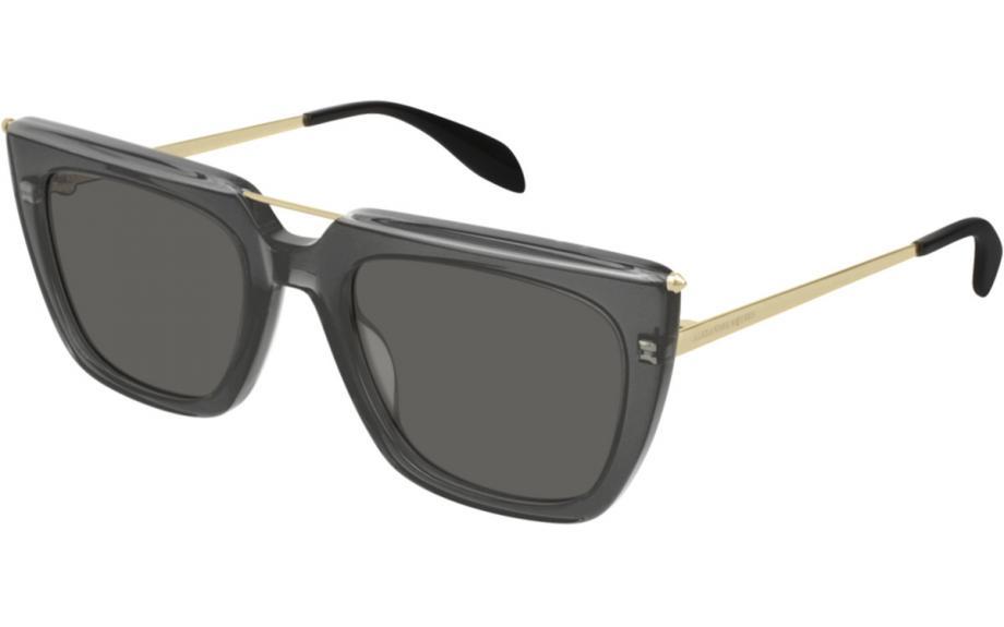 6edb01ce1b1 Alexander McQueen AM0169S 001 54 Sunglasses - Free Shipping