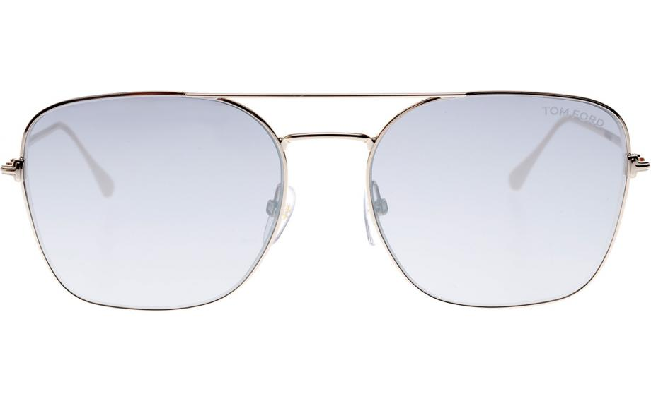 28C A Sunglasses Tom Ford DYLAN-02 FT 0680 Rose Gold//Grey Shaded Mirror