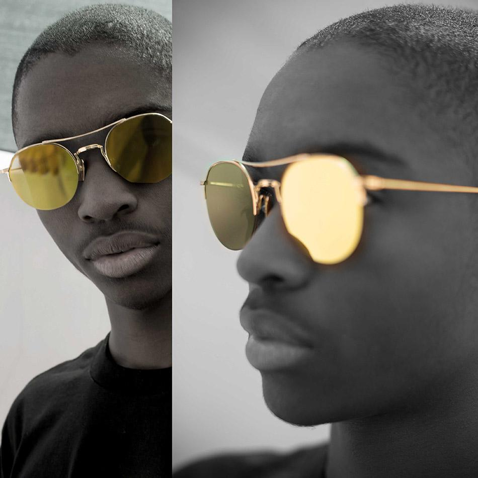 2551d2558f07 Japenese Custom Titanium. Thom Browne sunglasses ...